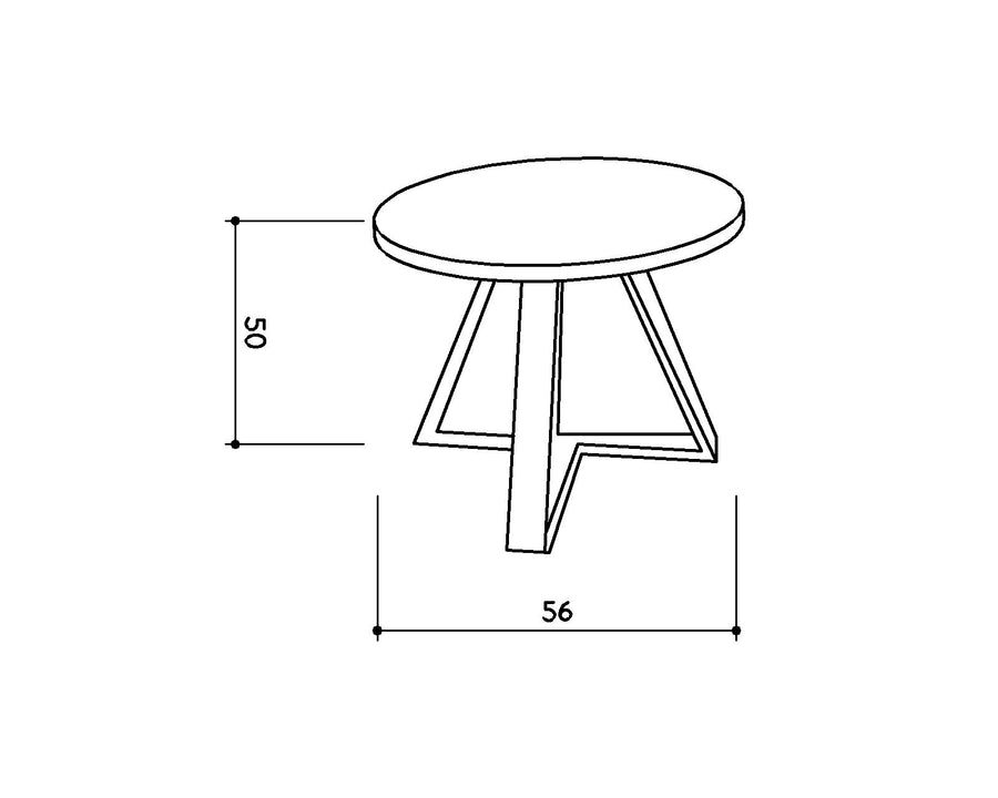 [DEFECT ITEMS] [TG] Easton Side Table