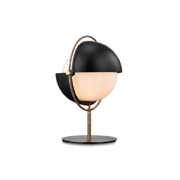 Gladiator Black Table Lamp