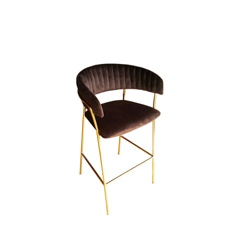 [TG] Abby Bar Chair Chocolate