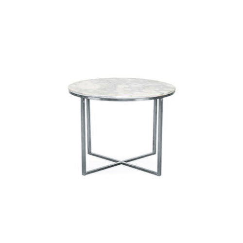 [TG] Replica Primo Side Table Round (Silver Leg)