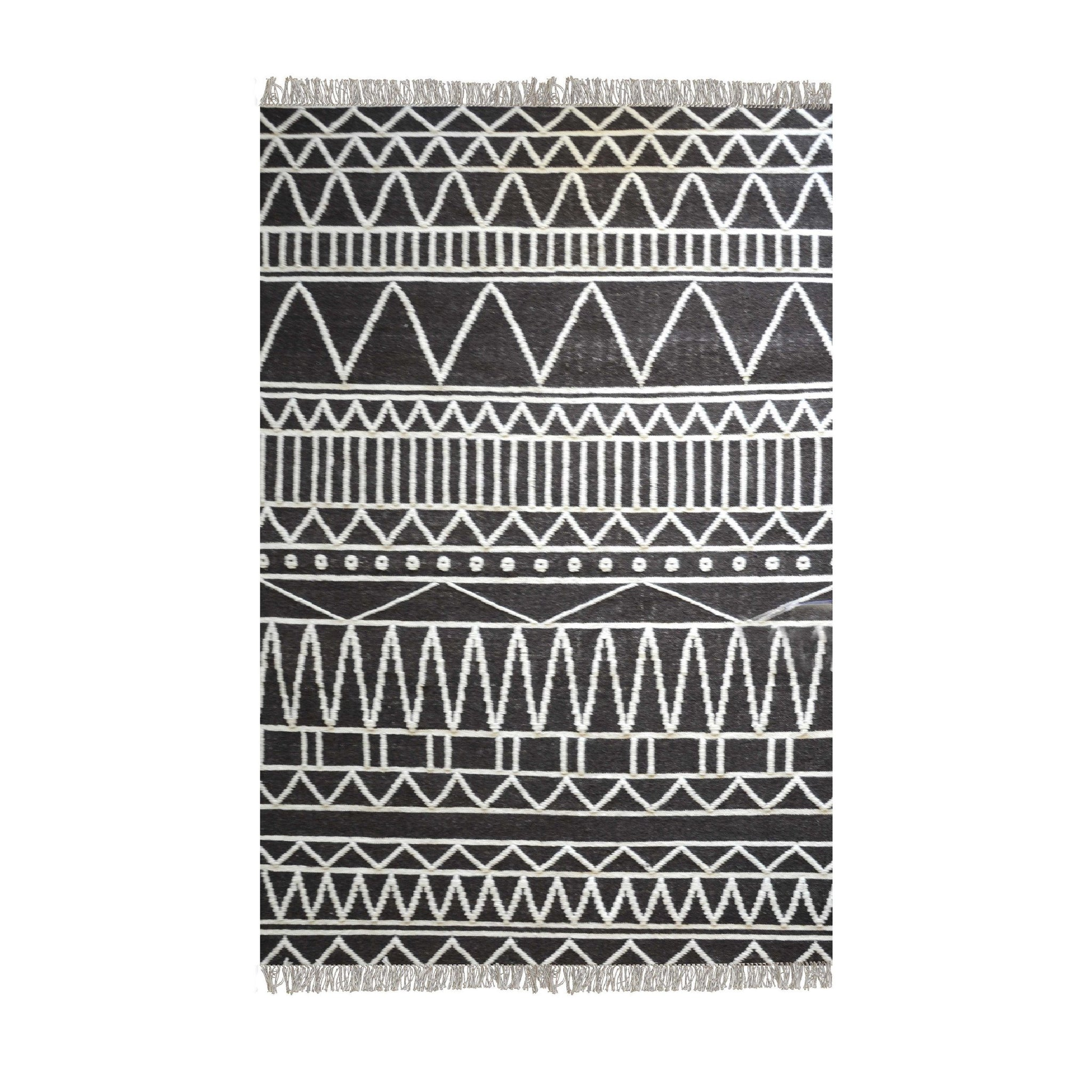 [RUG] Canton Charcoal Ivory