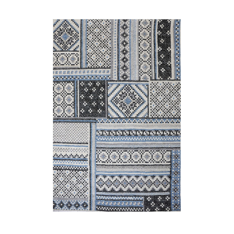 [RUG] Kington Ivory Grey Blue
