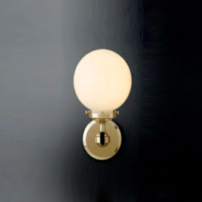 [DEFECT ITEMS] [ME] Dale Wall Lamp Brass Milky Bulb