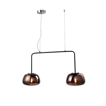 [DEFECT ITEMS] [RZ] Ryker Black Pendant Lamp