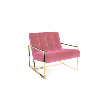 [TG] Replica Goldfinger Lounge Chair Pink Nude