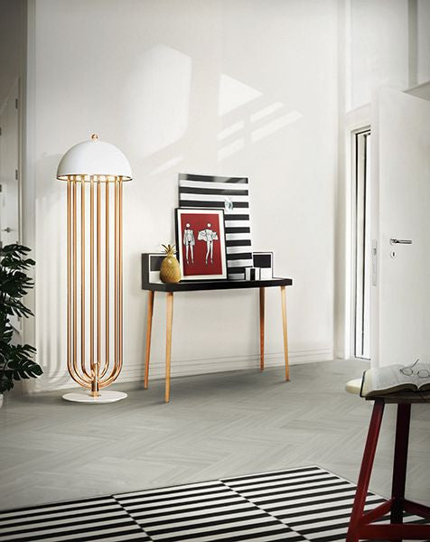 Replica Turner Floor Lamp White