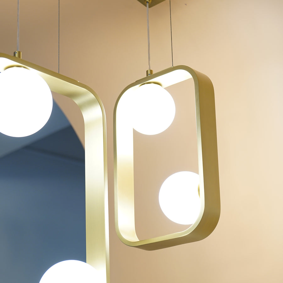 Replica Moondance Square 22 Pendant Lamp