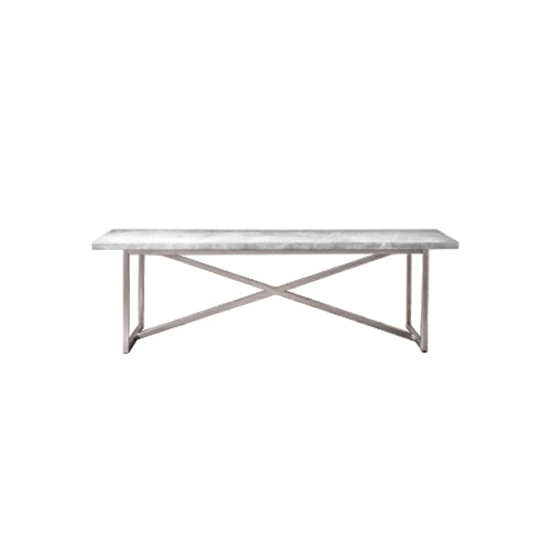 [VD] Gent Dining Table (Chrome Leg)