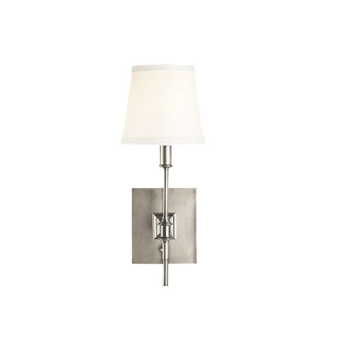 Knight Wall Lamp Nickel