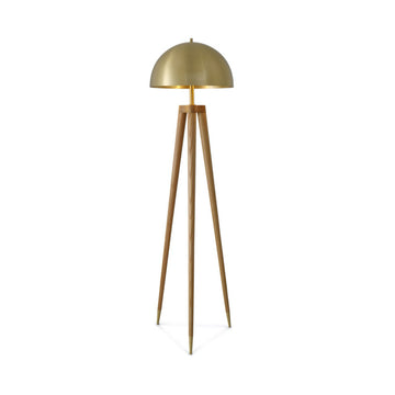 [DEFECT ITEMS] Bruno Brass Floor Lamp
