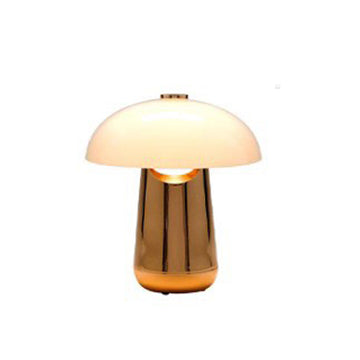 [DS] Gaston Table Lamp Rosegold & White
