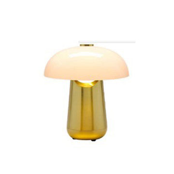 [DS] Gaston Table Lamp Gold & White
