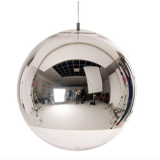 [DEFECT ITEMS] Replica Mirror Ball 30 Chrome