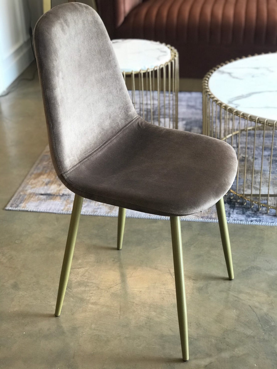 [DG] Replica Beni Pair Dining Chairs Grey