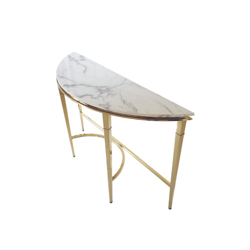 [TG] Mocha Table (Gold Leg)