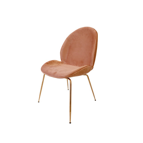 [TG] Replica Beetle Chair Pink Nude (Rose Gold Legs)