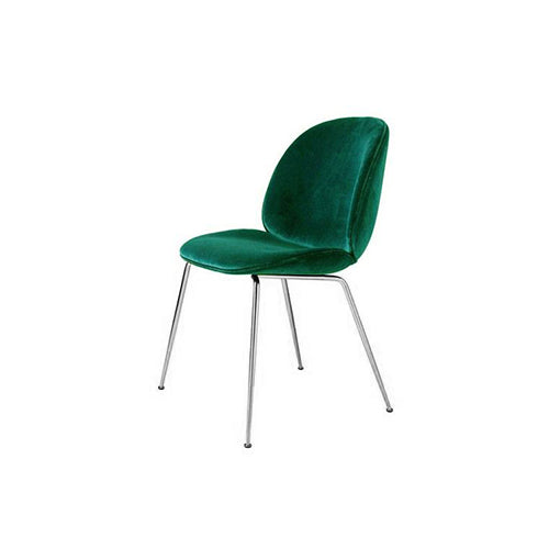 [TG] Replica Beetle Chair Green (Silver Legs)