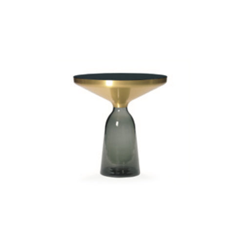[TG] Replica Bell Side Table Brass Grey