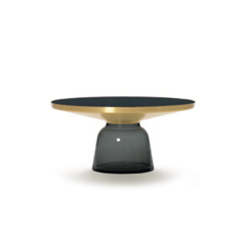 [TG] Replica Bell Coffee Table Brass Grey