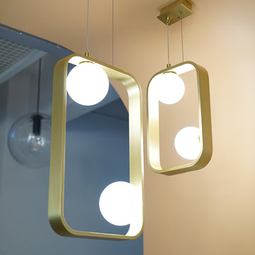 โคมไฟเพดาน Replica Moondance Square 30 Pendant Lamp