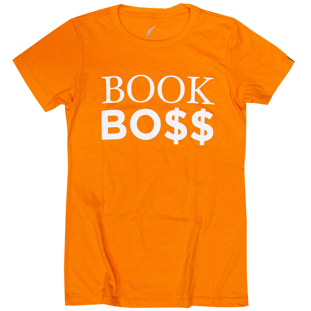 Women's Book Bo$$ (Orange)