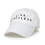 Live Limitless Dad Hat (White)