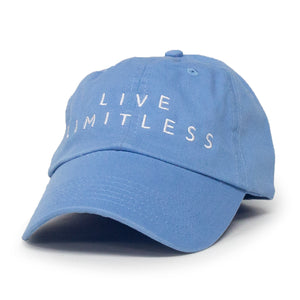 Live Limitless Dad Hat (Carolina Blue)