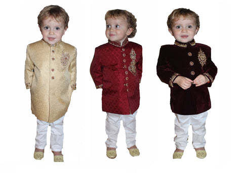 Kids Boys Children Sherwani