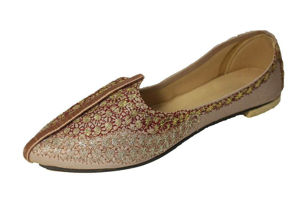 Jorhat- Plum Mojri Khussa Shoes - Sherwani King - - 1