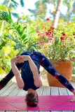 Yoga Waist Dragonfly Print Leggings