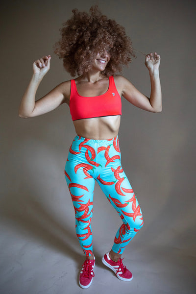Red Hot Chili Peppers Print Leggings