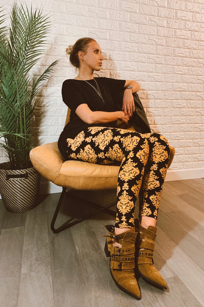 Boho Print Leggings