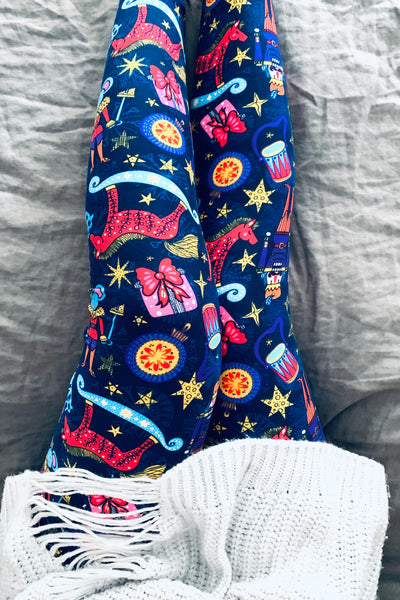 Christmas Mood Print Queen Size Leggings