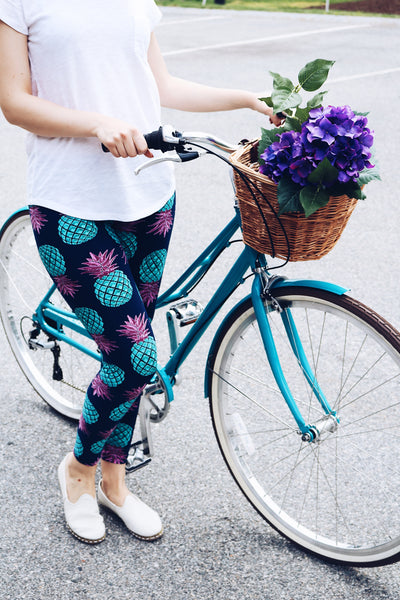 Pineapple Print QUEEN SIZE Leggings