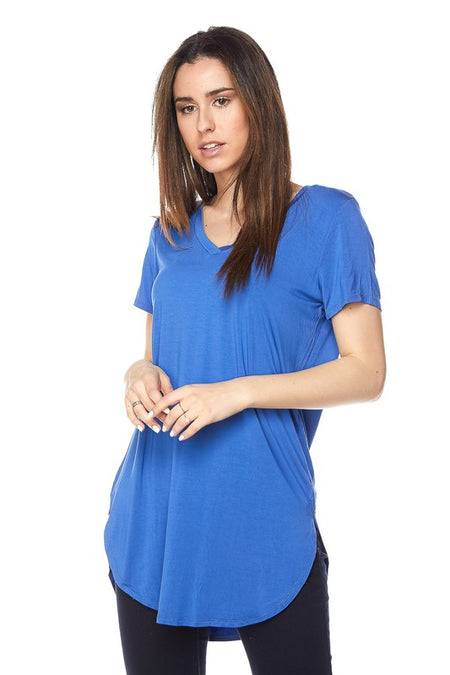 Baby Blue Tunic Top