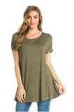 Olive Tunic Top