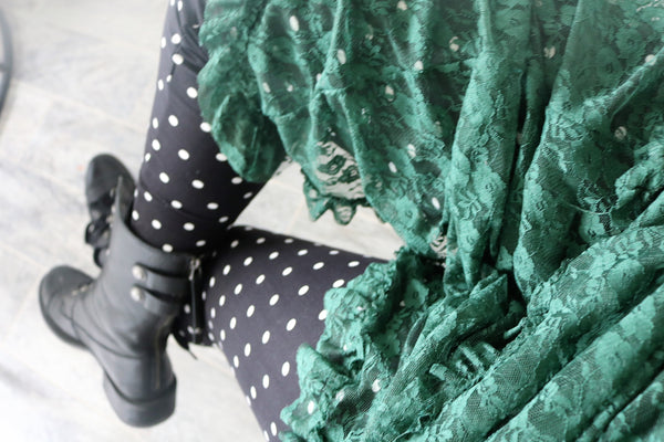 Polka Dot Print QUEEN SIZE Leggings