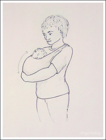 benefits of babywearing your newborn provides proper spinal positioning