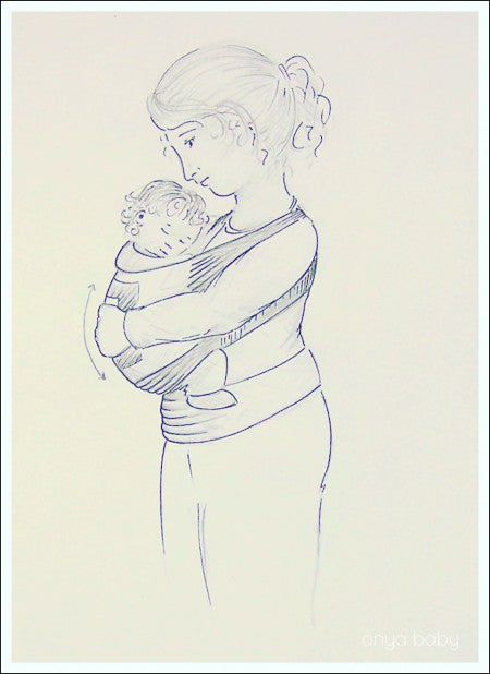 benefits of babywearing provides proper postioning for baby's development