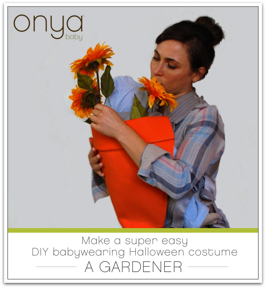 Making a DIY babywearing Halloween costume