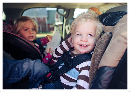 Traveling with child in carseat