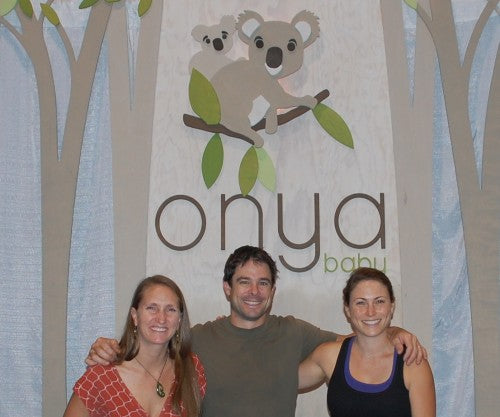 The core of the Onya Baby team at our official launch. September 2011, in Louisville, Kentucky at the ABC Kids Expo