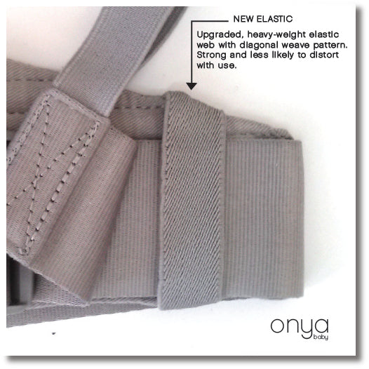New Improved Onya Baby Carrier Elastic