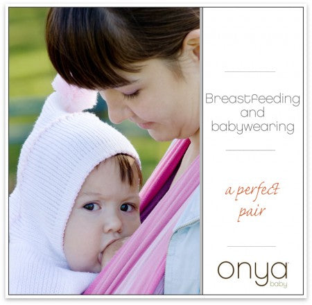 Breastfeeding is so much easier when you add a great baby carrier.