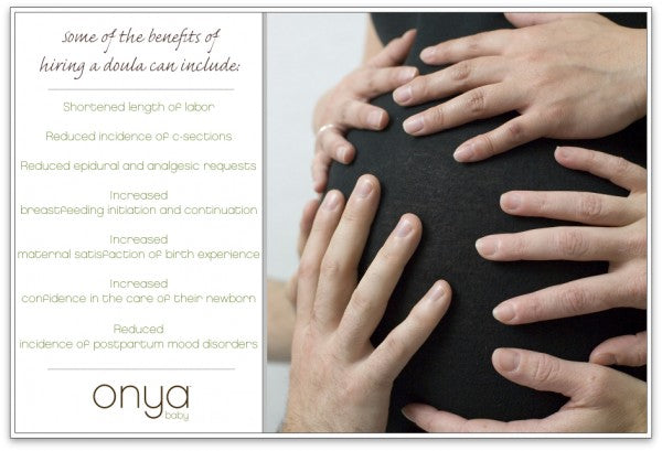 List of benefits of hiring a doula to attend your birth