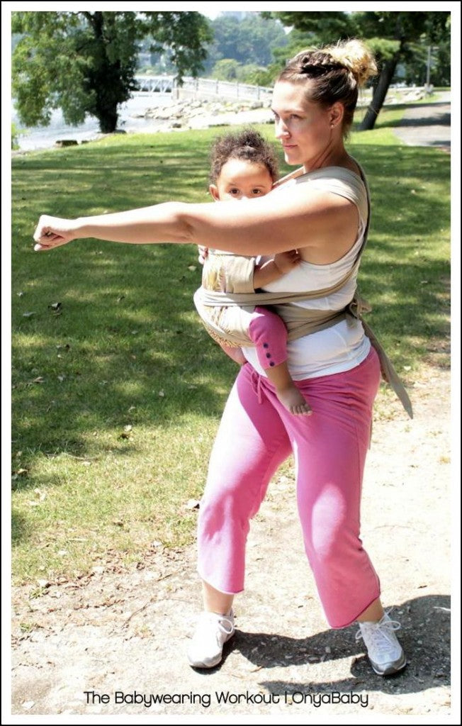Babywearing Workout 1