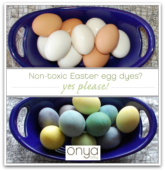 Making your own non-toxic Easter egg dyes