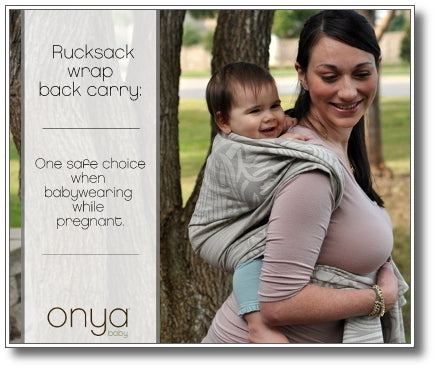 Babywearing While Pregnant Part Two Onyababy Com