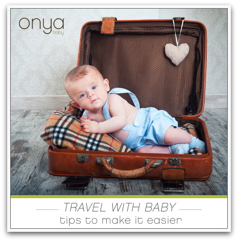 Great tips to make travel with baby easier