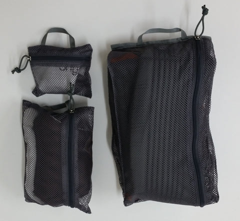 Zippered Mesh Storage Bag